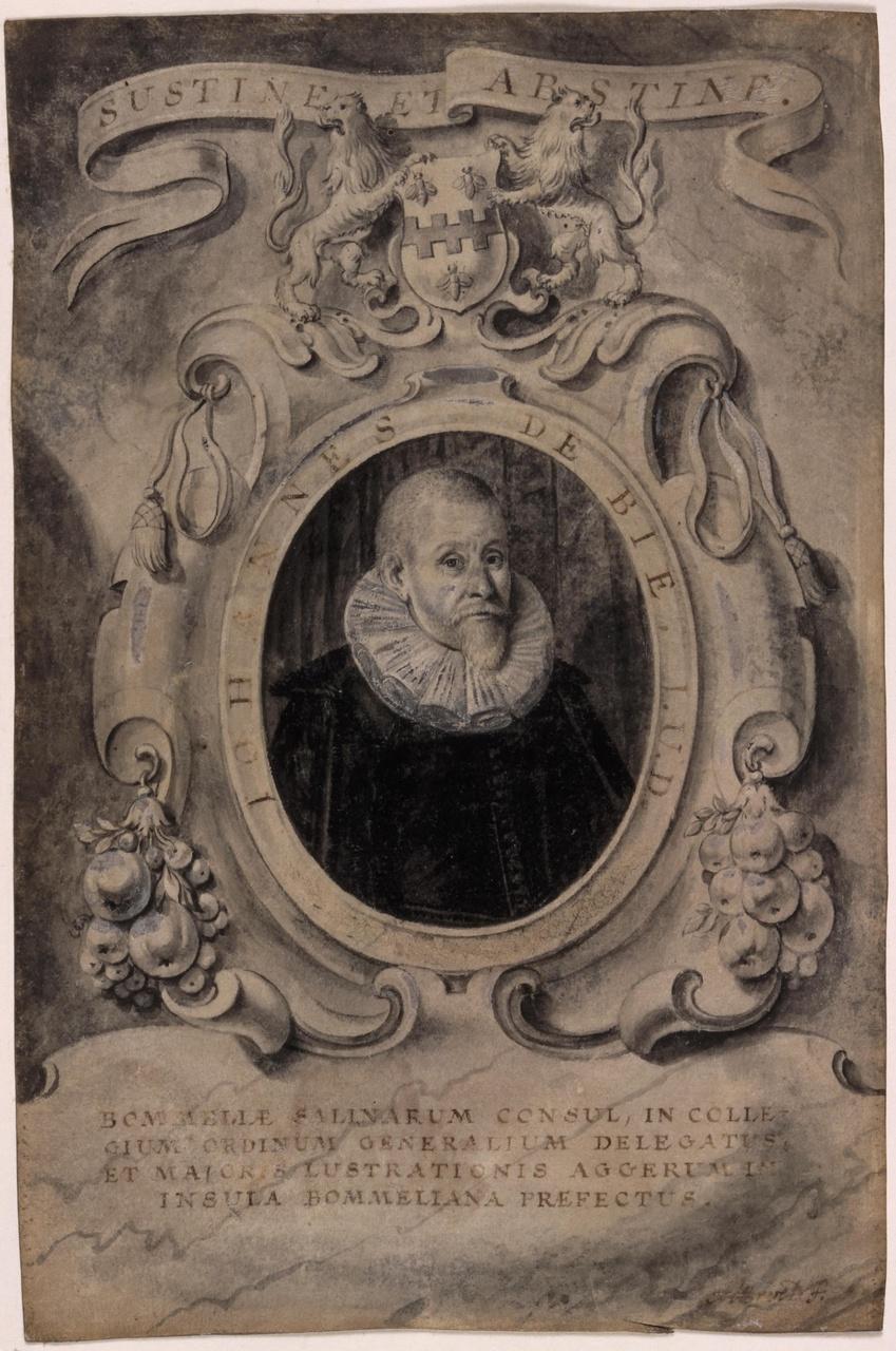Portret van Johannes de Bie