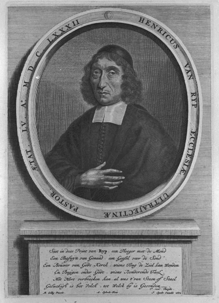 Portret van Henricus van Rijp (1627-1685)