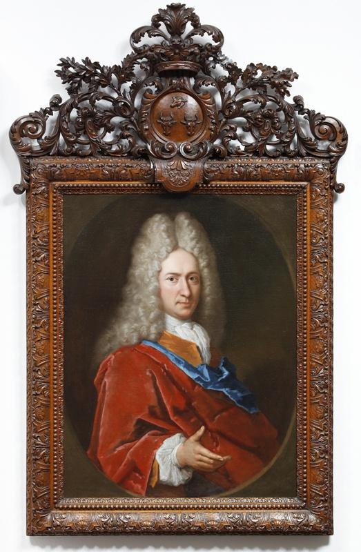 Portret van Jacob Martens (1671-1729)
