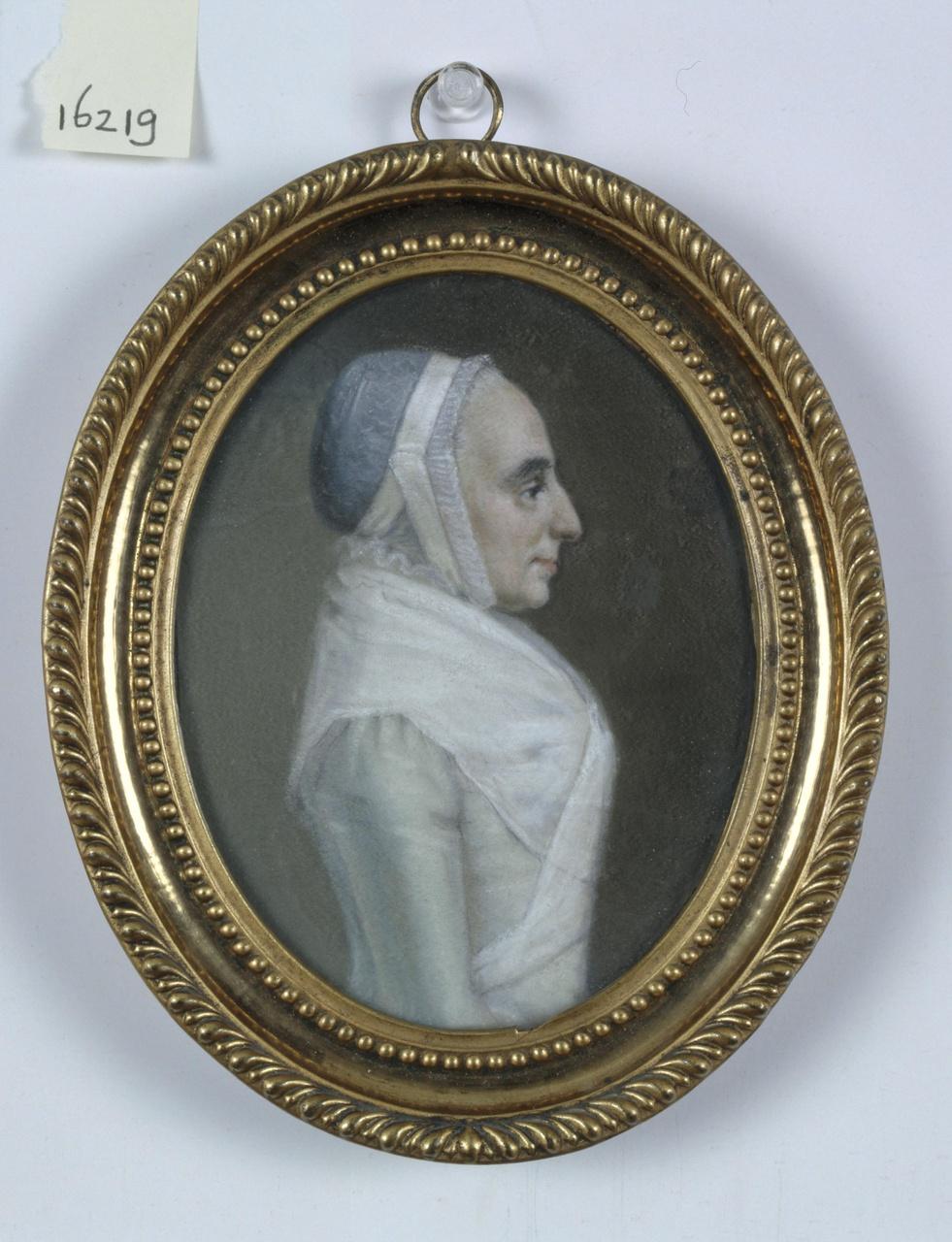 Portret van Margareta Aletta Martens (1742-1819)
