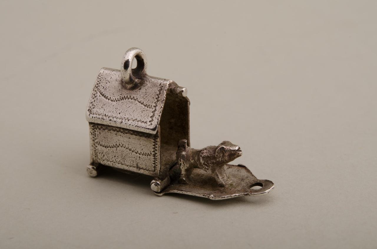 Hondenhok (bedeltje, miniatuur)