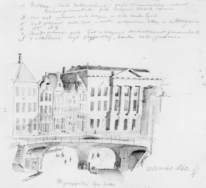 Stadhuis te Utrecht