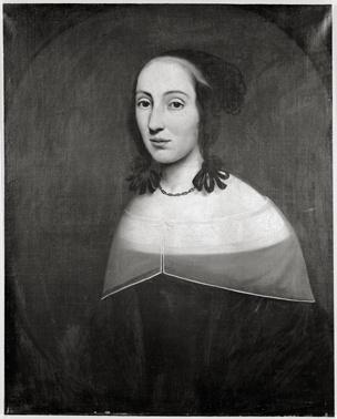 Portret van Elisabeth Reuffert (1637-1717), tweede echtgenote van Paulus Voet