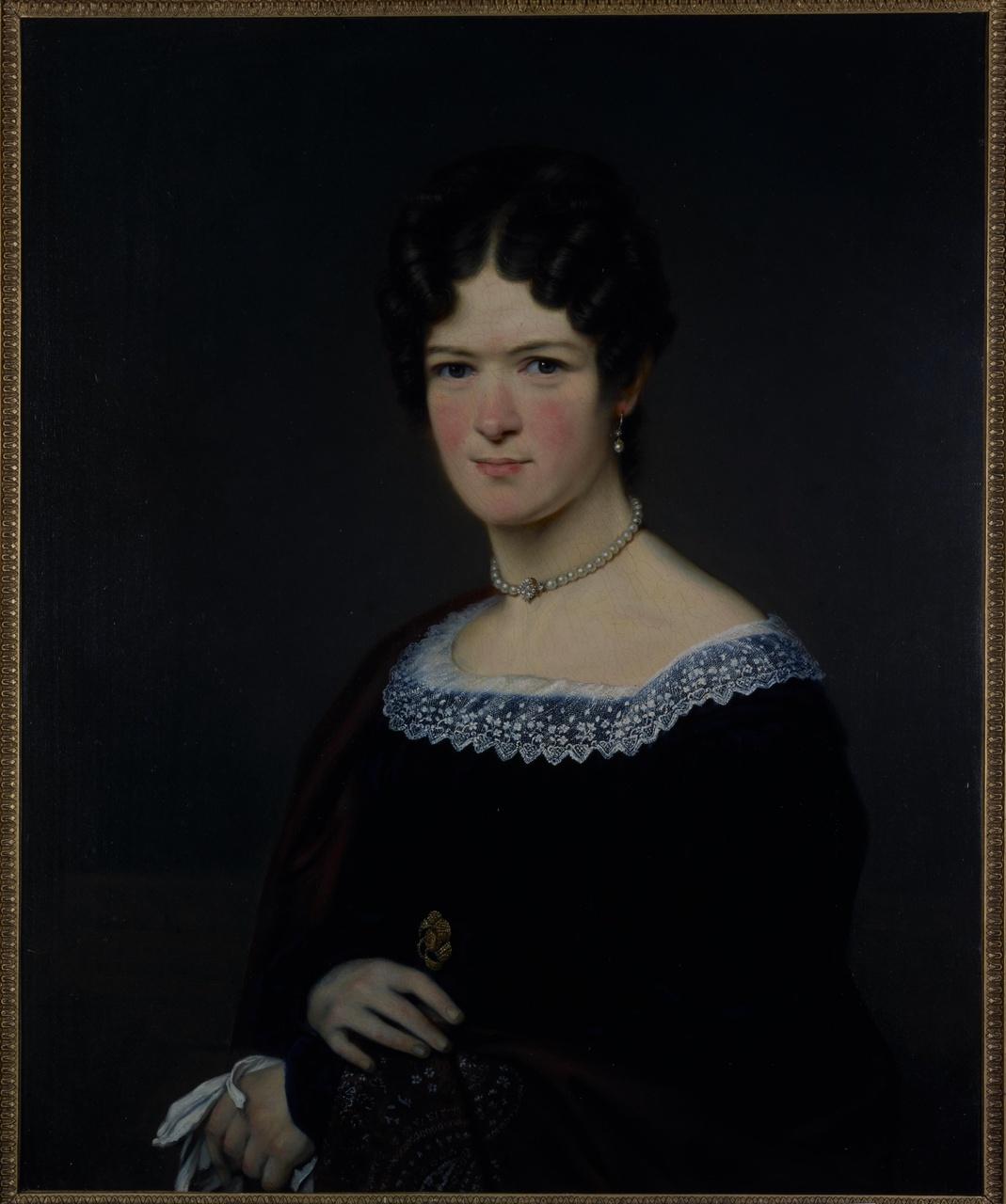 Portret van Susanna Jacoba Martens (1799-1860), echtgenote van Jacob Cobstantijn Martens van Sevenhoven