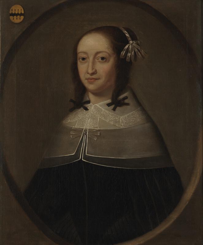 Portret van Elisabeth van Winssen (?-1655), echtgenote van Paulus Voet