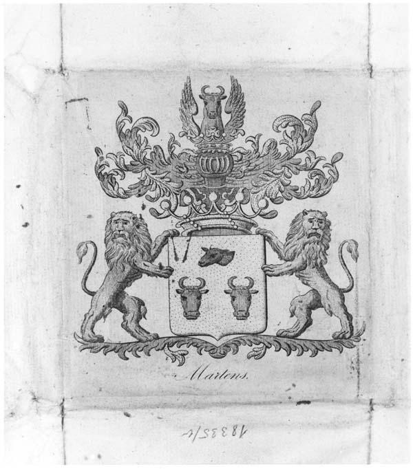 Heraldisch wapen van de familie Martens