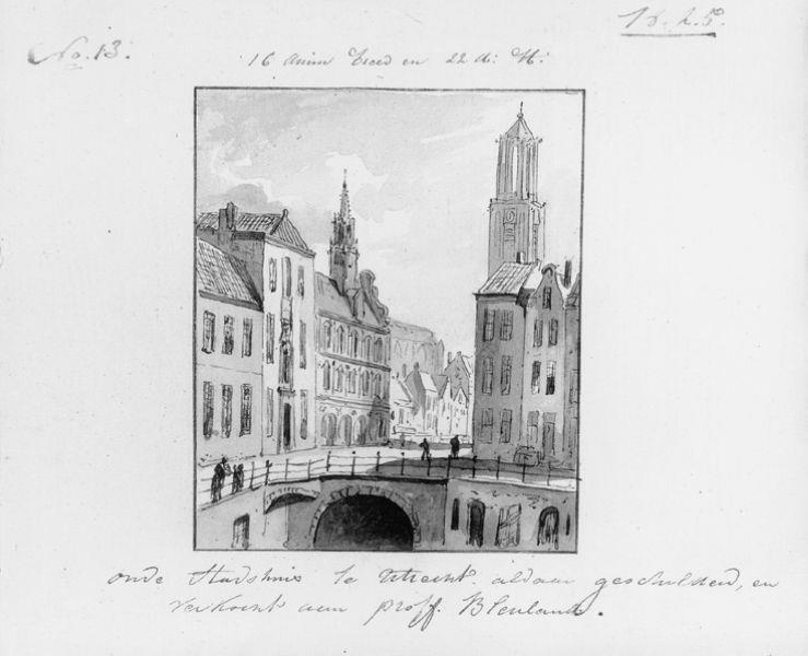Stadhuisbrug te Utrecht