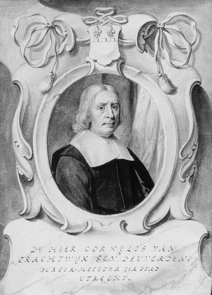 Portret van Cornelis van Deuverden van Kragtwijck (? -1670)