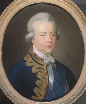 Portret van prins Willem V (1748-1806)