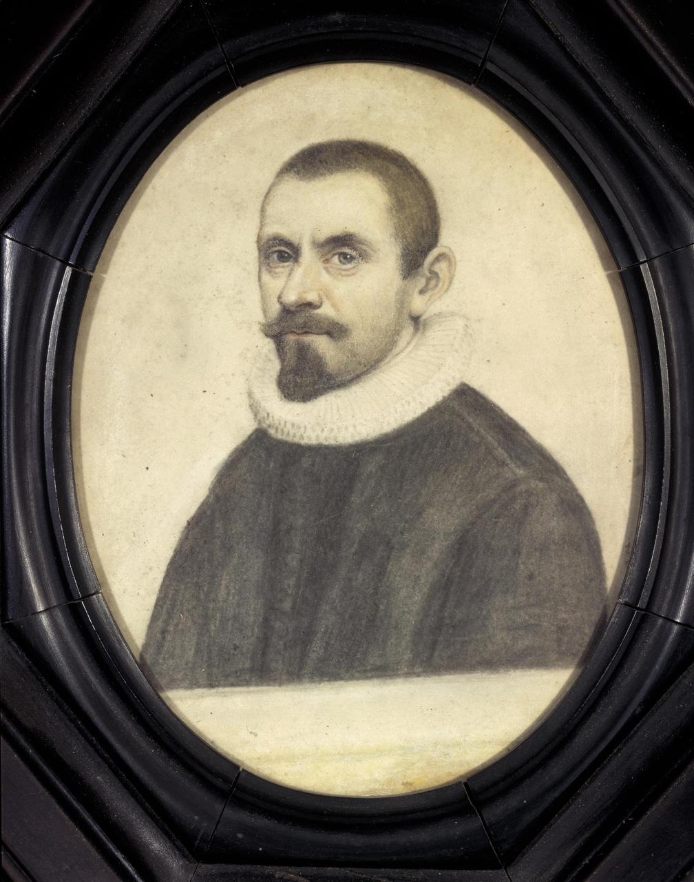 Portret van prof. Carolus Dematius (1597-1651)