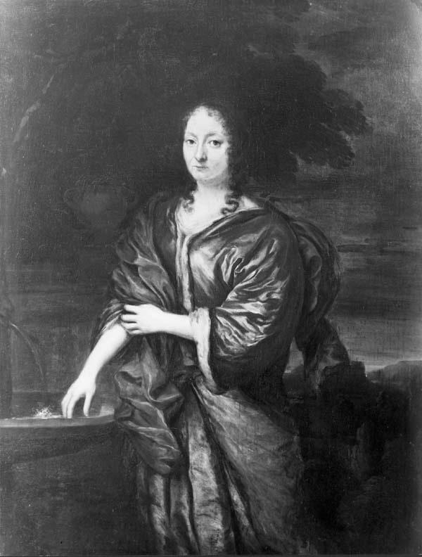 Portret van Geertruij ter Borch (?-1712), echtgenote van Lucas van de Poll