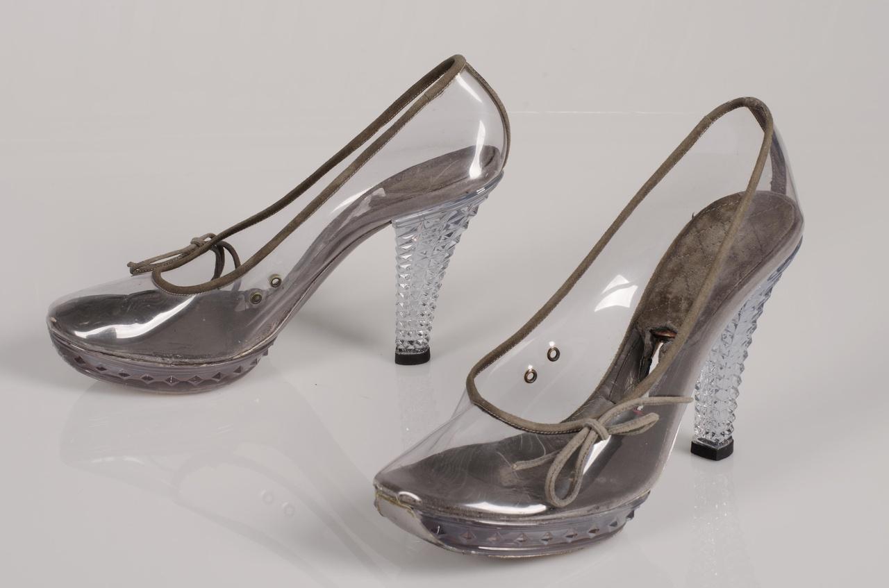 Paar damespumps 'Silver: Fabiana'