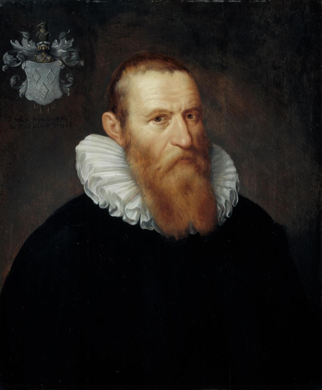 Portret van Dirck de Goyer (1538-1601)