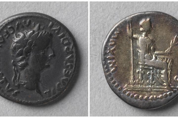 Denarius, Romeinse keizerlijke munt, Tiberius (14-37)