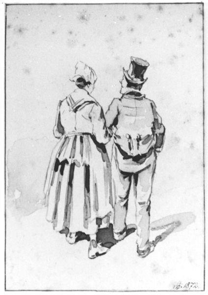 Boer en boerin (studie)