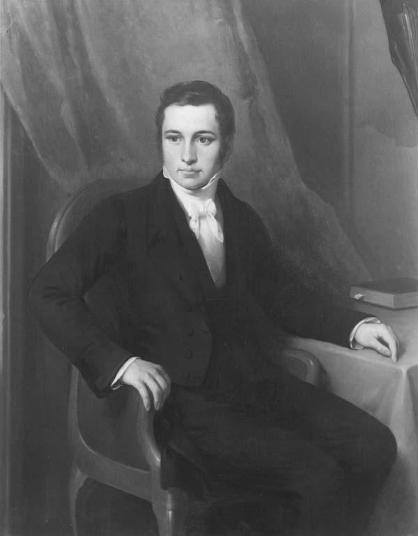 Portret van Jan Hendrik Martin Martens (1795-1828)