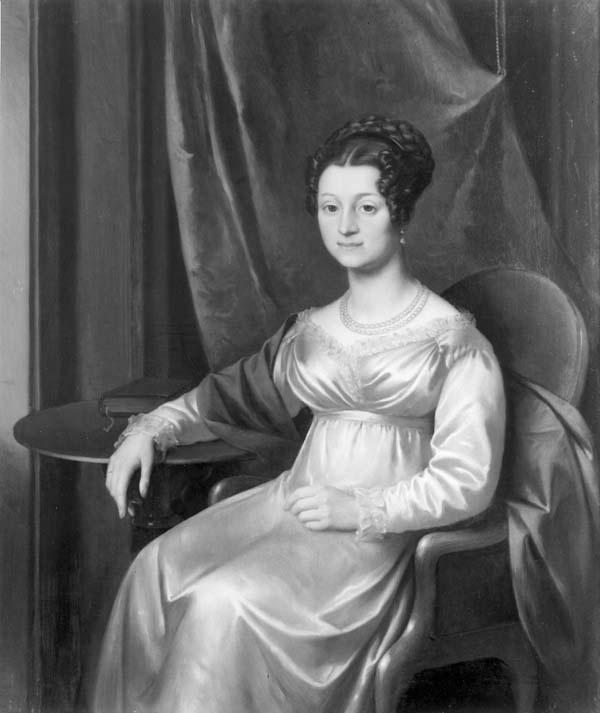 Portret van Susanna Amelia Testas (1794-1854), echtgenote van Jan Hendrik Martin Martens