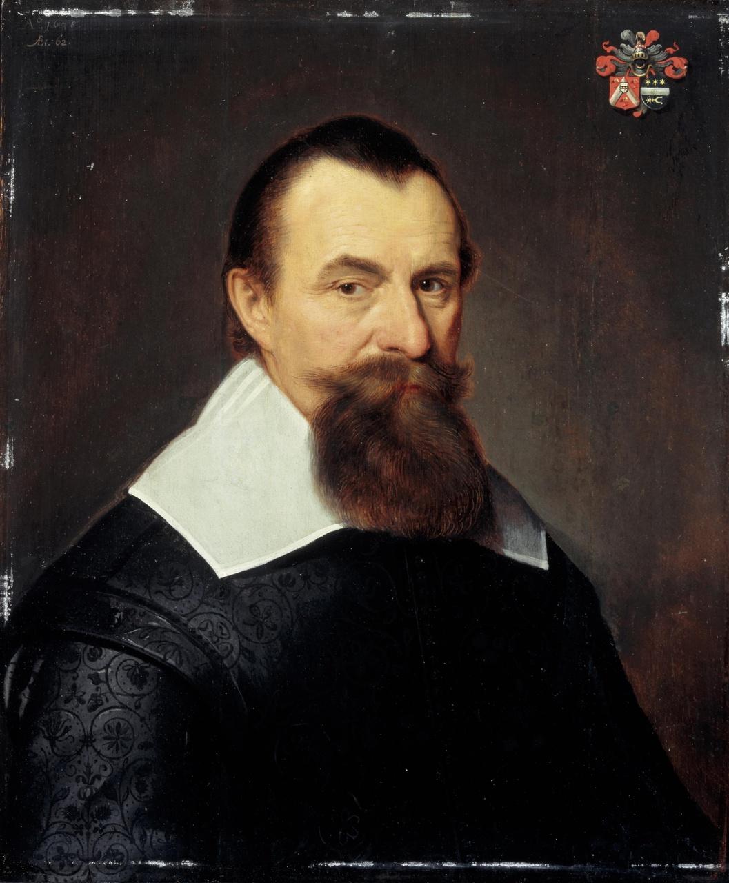 Portret van Marcus (de) Mamuchet (1575/1576-na 1638)