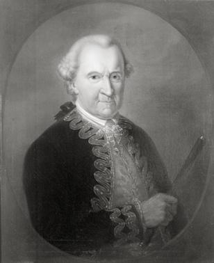 Portret van Jaque Elie de Maleprade (1693-1774)