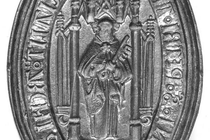 Zegels van de officiaal van de aartsdiaken van Sint Pieter