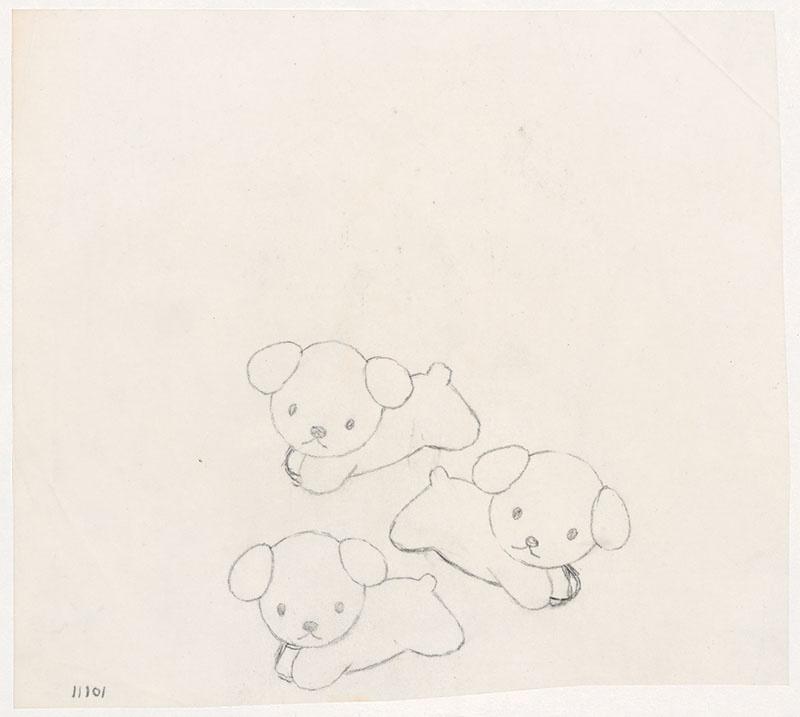 de puppies van snuffie [rennnende puppies, niet opgenomen in het kinderboek]