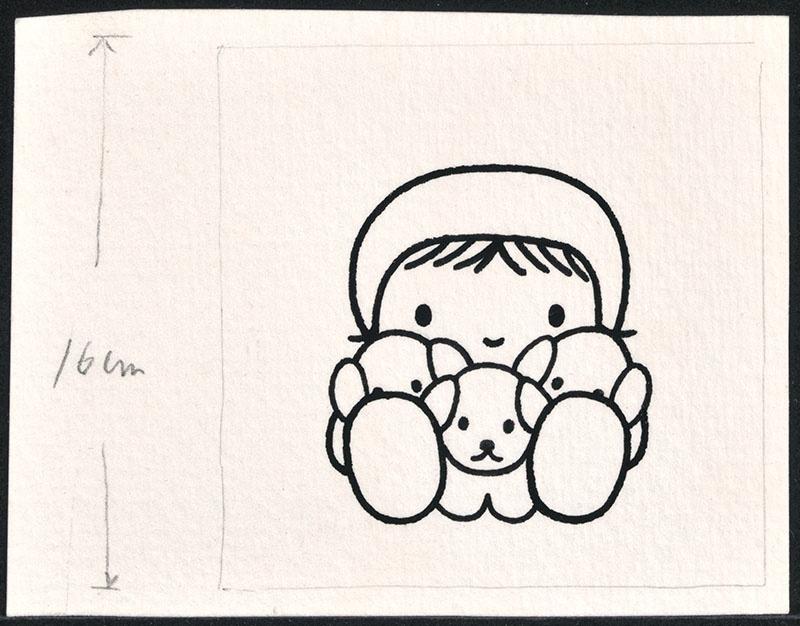 de puppies van snuffie [meisje met puppies, niet opgenomen in kinderboek]