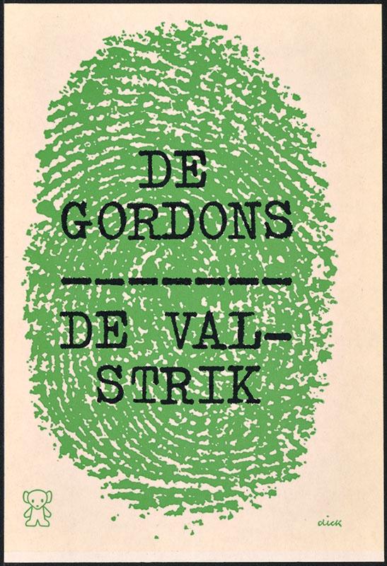 Gordons, De [De valstrik / Zwarte Beertjes 920]