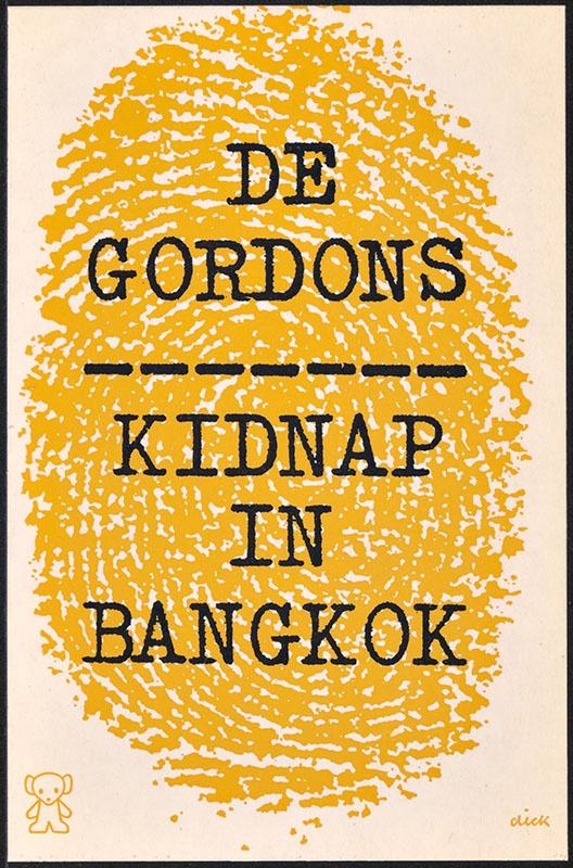 Gordons, De [Kidnap in Bangkok / Zwarte Beertjes 952]