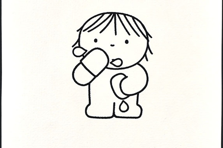 ik kan alles zelf [aangetroffen bij kinderboek: 'een drukke dag'; meisje wast zichzelf met washand en zeep; niet uitgegeven]
