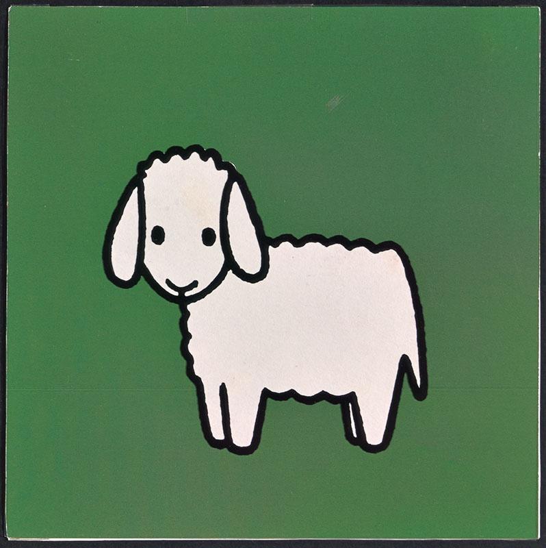 boe zegt de koe [schaap op p. 13; tekst op p. 14]