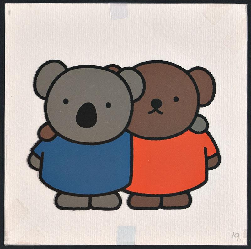 boris en ko [boris en ko met armen over elkaars schouder op p. 19 en tekst op p. 20]