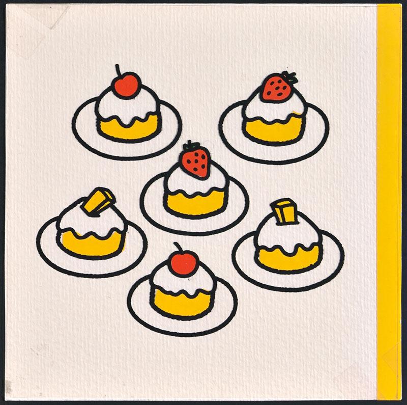 nijntje in luilekkerland [zes taartjes op de omslag]
