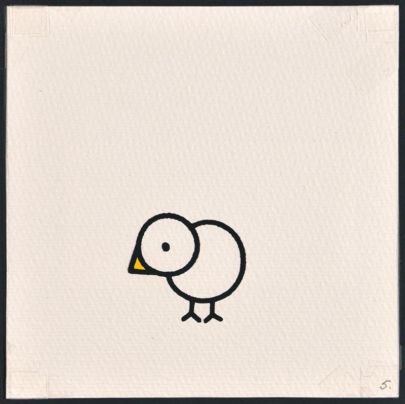 vogel piet [vogel piet zonder veren op p. 5 en tekst op p. 6]