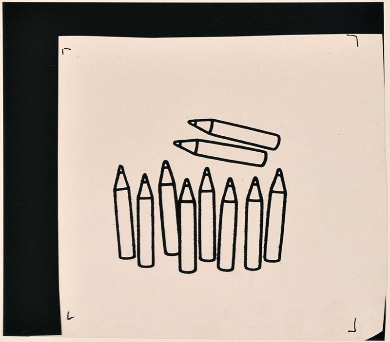 wie zijn rug is dat? [potloden op p. 10; met als thema: 'hoeveel potloden zie je hier?']