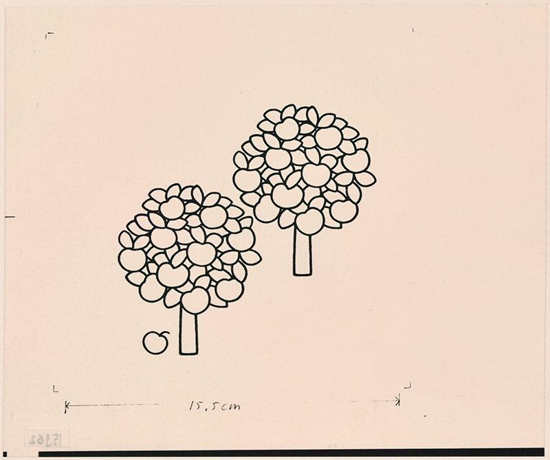 wie zijn rug is dat? [twee appelbomen op p. 26, met als thema: 'waar zit de vogel?']