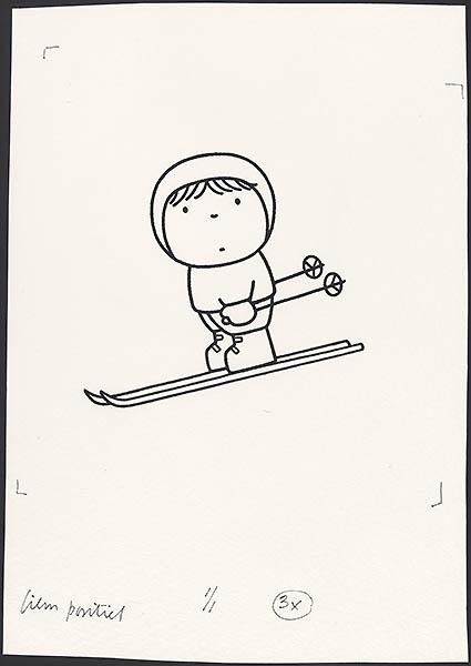 sportboek [p. 23; skiën]