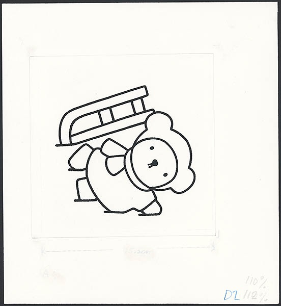 boris in de sneeuw [omslag, p. 13]