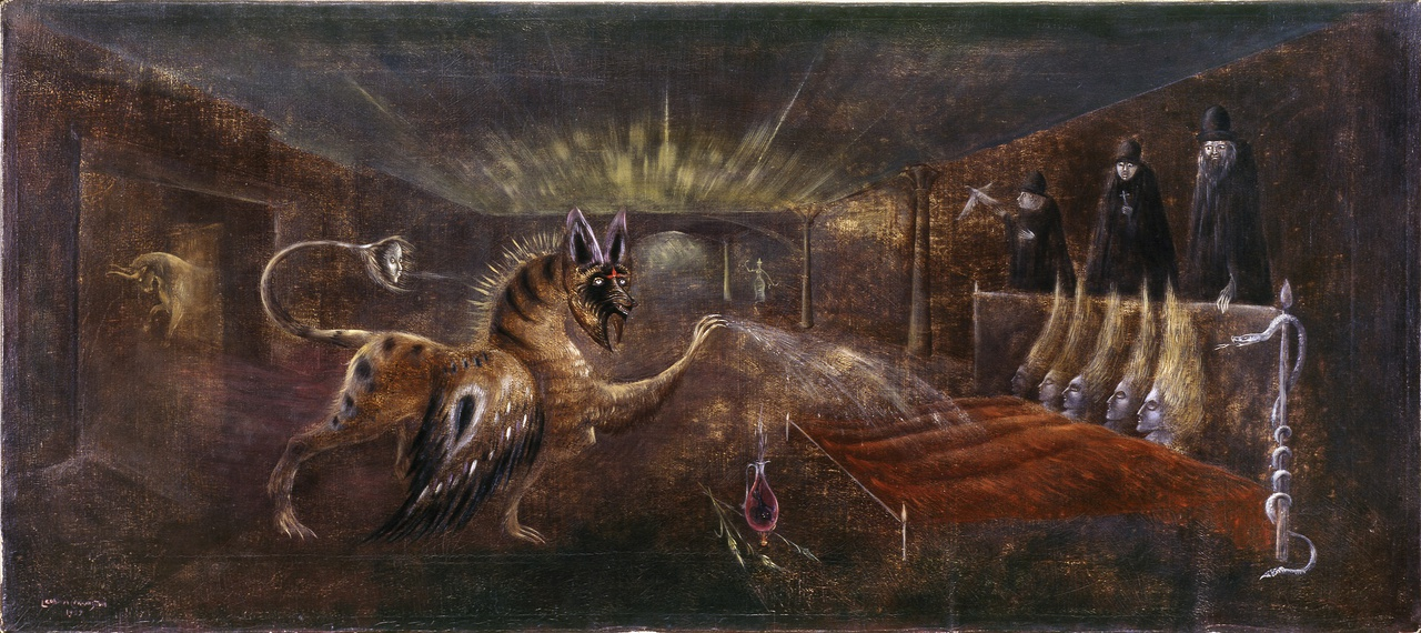 10/10 - Leonora Carrington, Oink (They Shall Behold Thine Eyes), 1959, Peggy Guggenheim Collection, Venice.