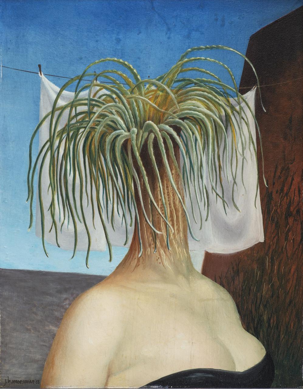4/10 - J.H. Moesman, Parasitica, 1958. Particuliere collectie