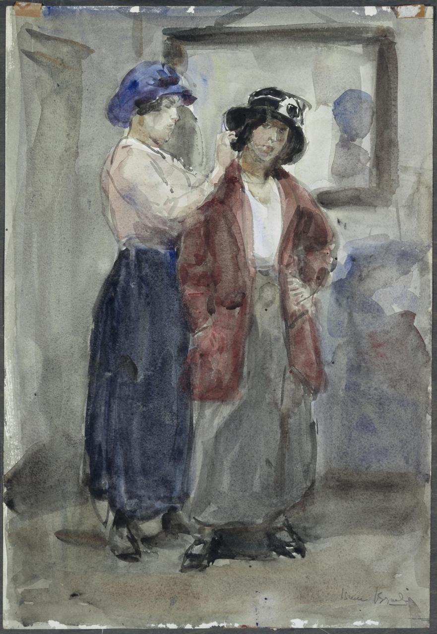 Bij de hoedenmodiste