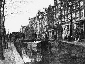 Rechtboomsloot te Amsterdam