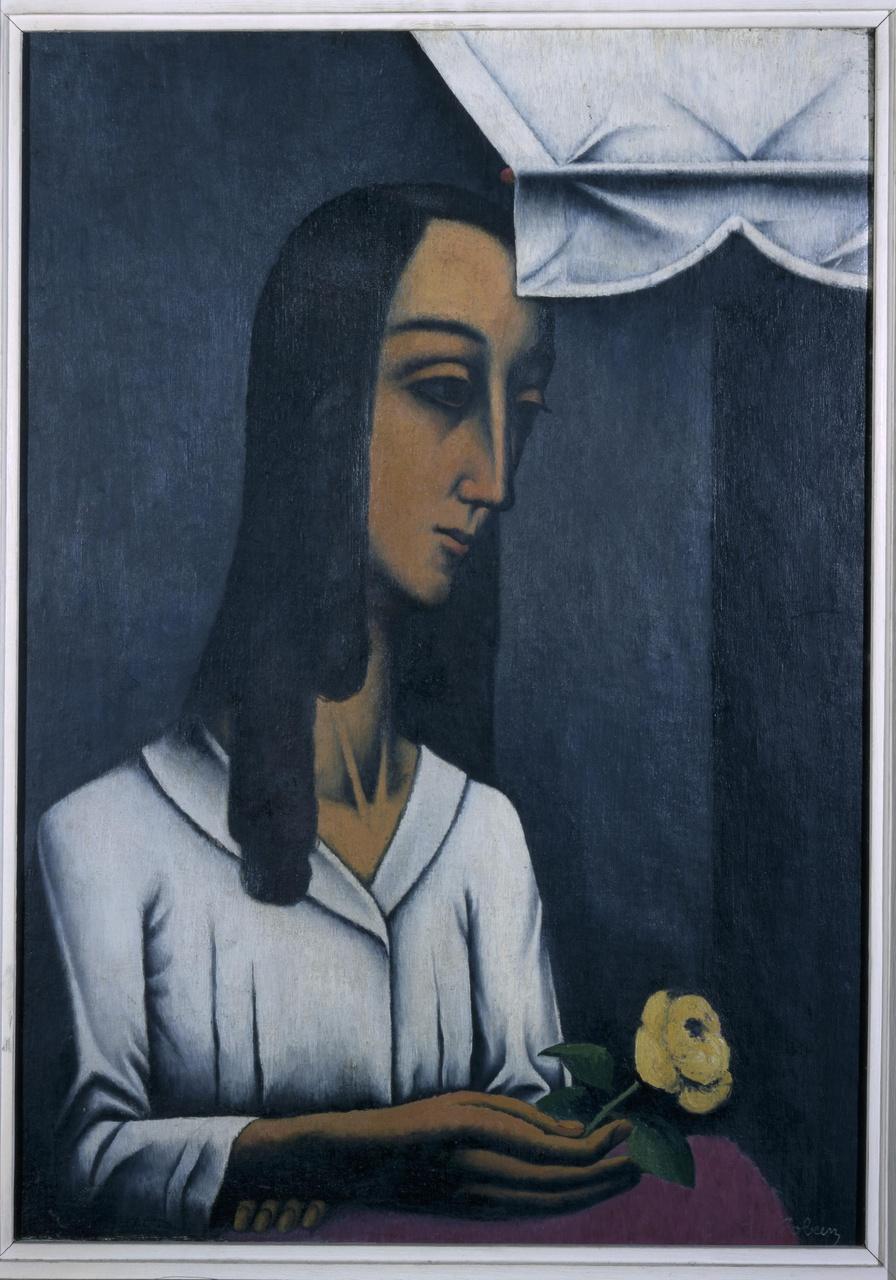 Jeune fille à la fleur