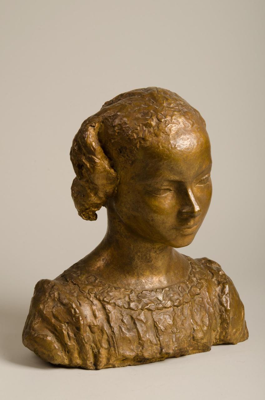 Borstbeeld van meisje
