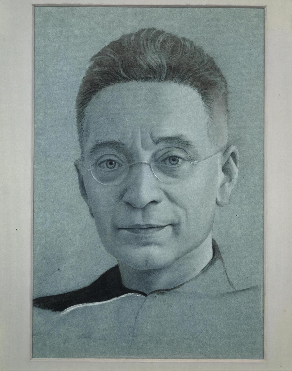 Portret van Titus Brandsma (1881-1942)