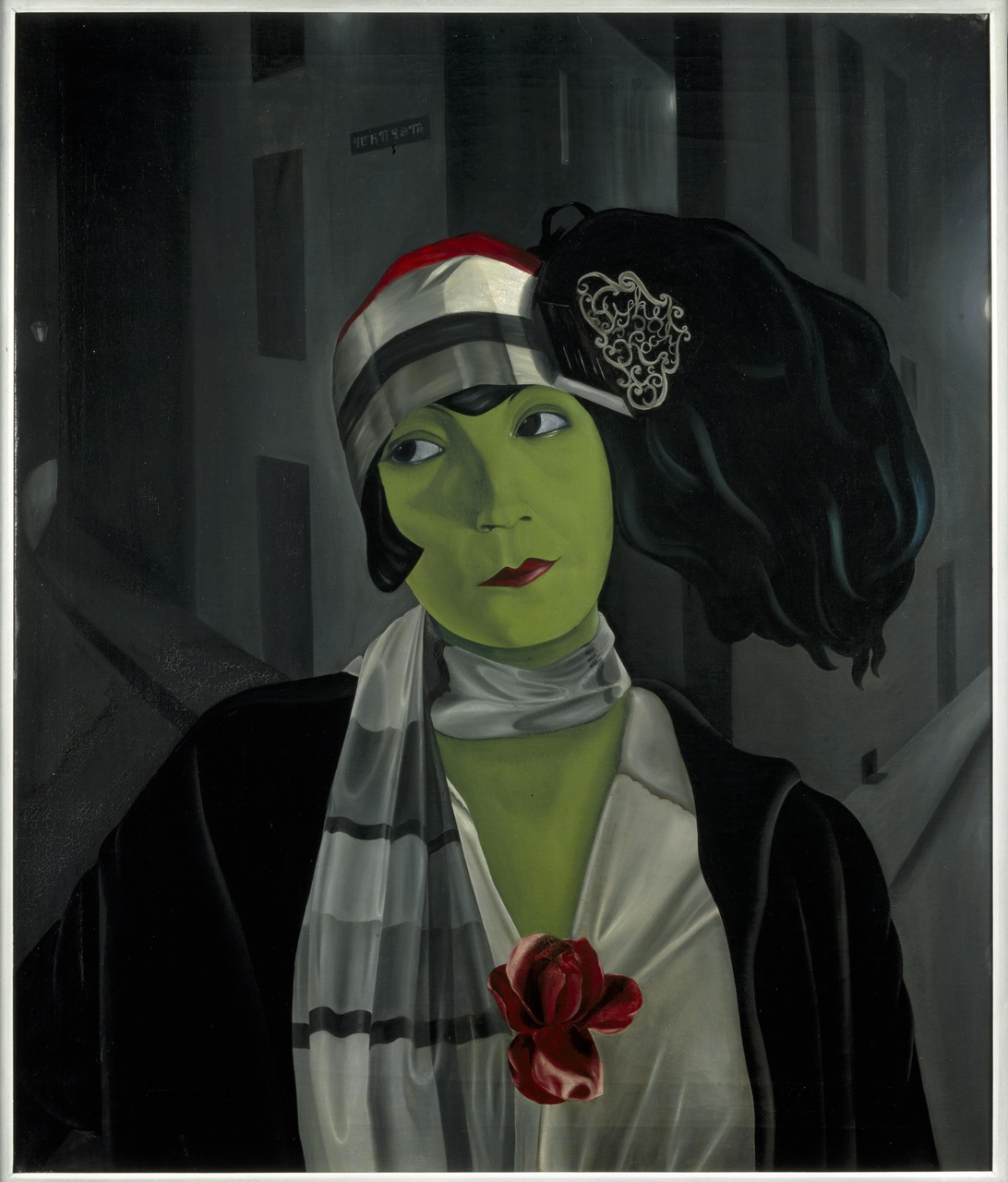 Portret Asta Nielsen