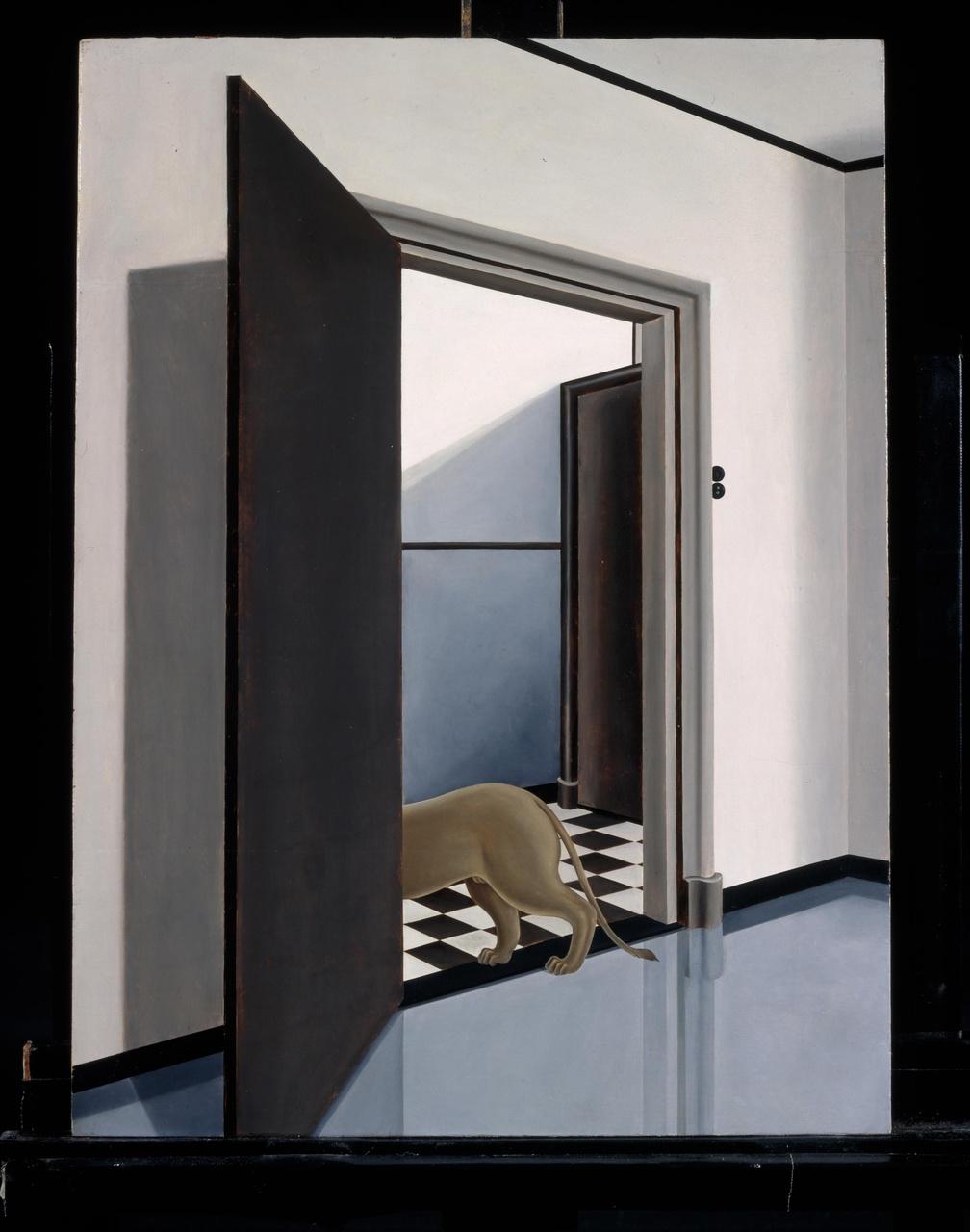 Leeuw in interieur II
