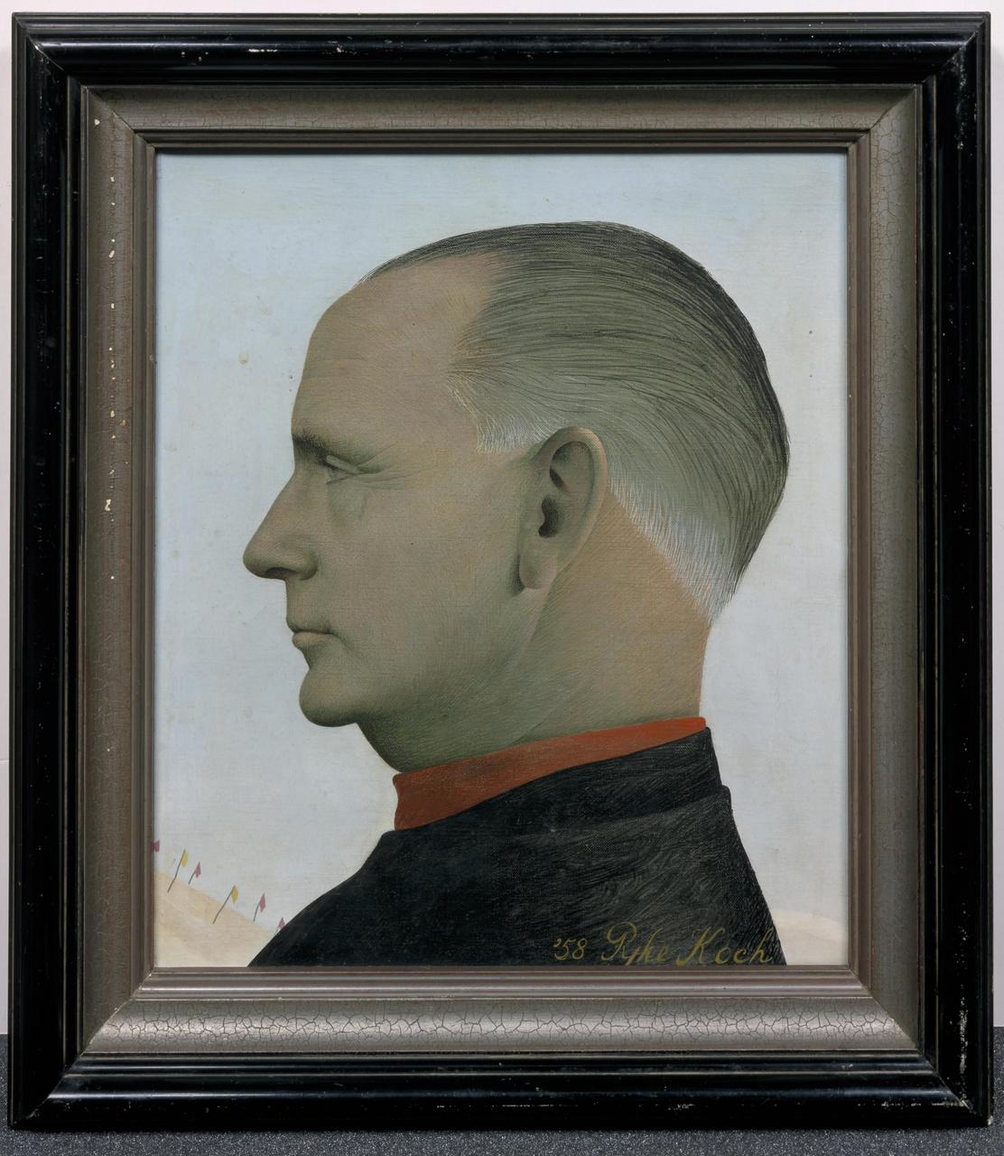 Portret mr. L.J. van der Valk (1897-1975)