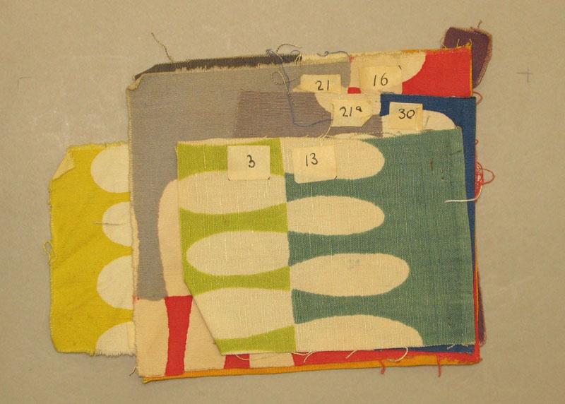 Kleurproeven, Italië 1951-52
