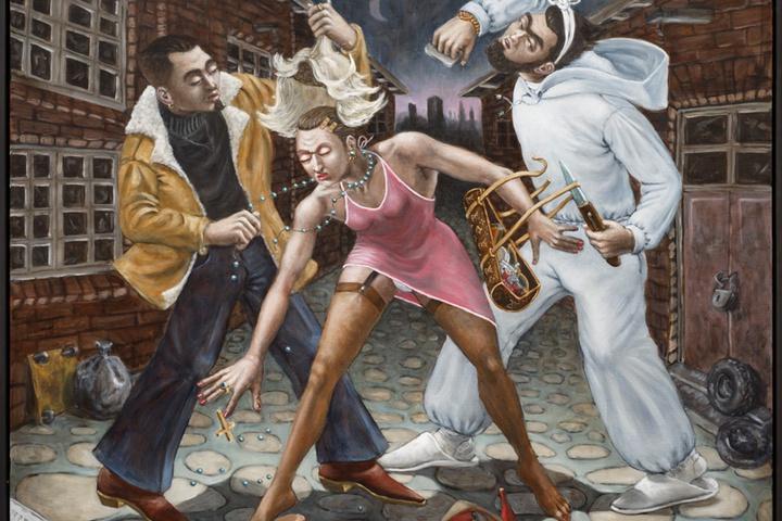 Decoronation. An allegory on violence (after Baburen)