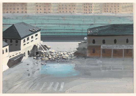 vuur 5/8/2013 (reeks: World Stress Painting, 2009-)